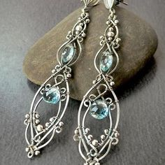 The icing on your look will be these pretty drop earrings. #crystal #jewelry