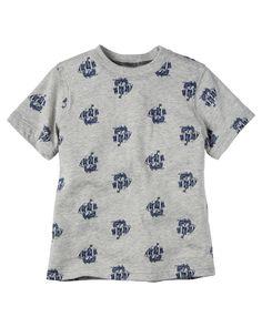 Carter's Toddler Boys' Ship-Print T-Shirt Baby Boy Tops, Carters Baby Boys, Toddler Boys, Baby Kids, Toddler Outfits, Kids Outfits, Carters Clothing, Carter Kids, Sweater Design