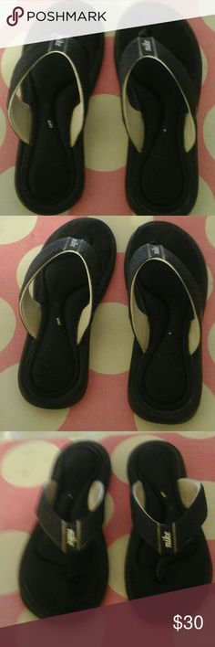 1a0d577ce0cb04 Nike Ladies Post Workout or Lounge Slip ons This sandal style is more of a  flip