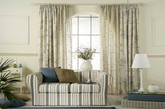I like how the colors all tie in, very relaxing modern contemporay that won't go out of style Beautiful Curtains, Window Dressings, Blinds, Interior Decorating, Relax, Windows, Luxury, Modern, House