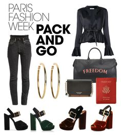 """Paris fashion week is a must!"" by fashionandtrend on Polyvore featuring Vetements, Tome, Prada, Bertoni, Burberry, Royce Leather, Kenneth Jay Lane, parisfashionweek and Packandgo"