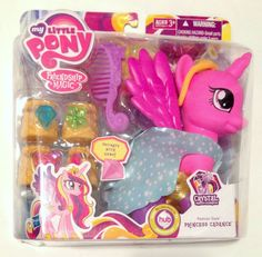 My Little Pony Friendship is Magic Fashion Style Princess Cadance Pony Doll My Little Pony Poster, My Little Pony Collection, My Little Pony Pictures, My Little Pony Friendship, Treasure Boxes, Age 3, Magic, Dolls, Pinterest Board