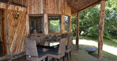 1 two bedroom en-suite log cabin with private kitchen & dining facilities. All these are well positioned overlooking the Mara River with great game views from the luxury of your own patio.