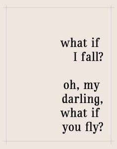 What if you fly ?