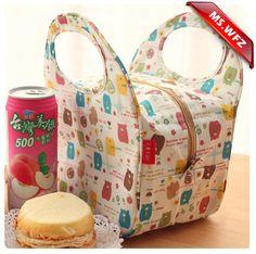 Ms wang zoo impermeable almuerzo aislamiento térmico caja de almuerzo bento encantadora pequeño paquete