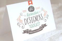The Decorative Designers Toolkit by Nicky Laatz on Creative Market