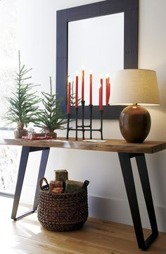 Check this, you can find inspiring Photos Best Entry table ideas. of entry table Decor and Mirror ideas as for Modern, Small, Round, Wedding and Christmas. Rustic Candle Holders, Rustic Candles, Taper Candle Holders, Rustic Wood, Entry Tables, Modern Entry Table, Console Tables, Live Edge Console Table, Dining Tables