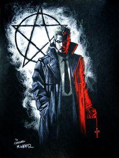 Джон Константин (изгоняющий дьявола) John Constantine (Hellblazer)
