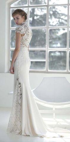 Featured Dress: Victoria F.; Wedding dress idea.