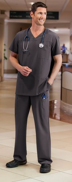 Classic Fit by Jockey Men's 7 Pocket Pant Dental Uniforms, Healthcare Uniforms, Work Uniforms, Scrubs Outfit, Scrubs Uniform, Men In Uniform, Scrubs Pattern, Jockey Mens, Lab Coats