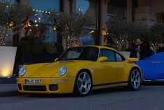 RUF CTR after the sunset #ruf #ctr #porsche #sportcar #carswithoutlimits #carporn #carlifestyle #carspotting
