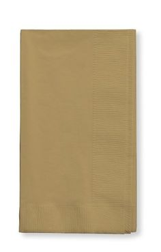 $7.45 Creative Converting Touch of Color 2-Ply 50 Count Paper Dinner Napkins, Glittering Gold Creative Converting