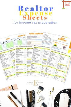 Stay organized and ready for income tax preparation with the real estate ultimate expense bundle for realtors. Includes realtor tax deductions and realtor expenses tips for income tax preparation. Tax Refund, Tax Deductions, Atkins, Ways To Save Money, Money Saving Tips, Income Tax Preparation, Tax Questions, Small Business Tax, Income Tax Return