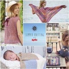 ¡El verano es para salir a tejer! Participa en nuestro sorteo Summer Knitting y gana un lote de revistas e hilos de la colección Primavera – Verano 2016   http://www.katia.com/blog/es/verano-tejer-sorteo-summer-knitting-2016/