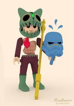 Echa un vistazo a mi proyecto @Behance: \u201cThis is not a playmobil!!!\u201d https://www.behance.net/gallery/50152611/This-is-not-a-playmobil