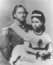 KING KAMEHAMEHA AND QUEEN EMMA OF HAWAII