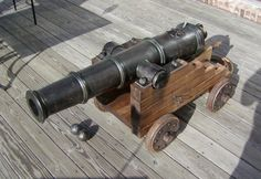 How to make a Pirate Cannon. (Do you remember everything you learned in wood shop?  You will need all that knowledge and then some!)