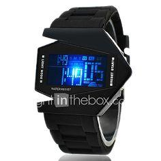 1bee101fe6d Da uomo Orologio sportivo Orologio da polso Orologio digitale Digitale LED  LCD Calendario Cronografo allarme Silicone