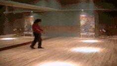 Michael jackson never-ending moonwalk . .