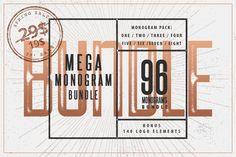 (30% OFF) Mega Monogram Bundle by Mcraft Shop on @creativework247