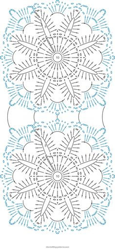 ABC Knitting Patterns - Flower Arbor Cushion.