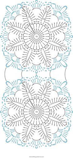 ABC Knitting Patterns - Flower Arbor Cushion.