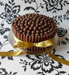 Cadbury Fingers and Maltesers Cake