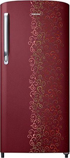 f5bd4ee22 Samsung 192 L Direct Cool Single Door Refrigerator(Royal Tendril Red