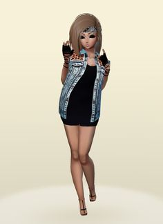 IMVU, the interactive, avatar-based social platform that empowers an emotional chat and self-expression experience with millions of users around the world. You Are Beautiful, Social Platform, Virtual World, Imvu, Avatar, Have Fun, Join, Mini Skirts, Chocolate