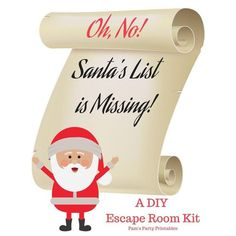 Oh No! Santa's List