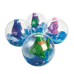 Inflatable Tropical Fish in Beach Balls - baby bowl/ party favors?? OrientalTrading.com $13.99 per 12