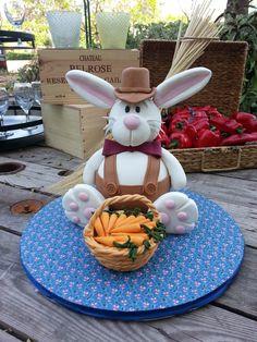 Rabbit shaped cake