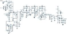 Stereo Tone Control with Line In + Microphone Mixer Schematic & PCB Layout Valve Amplifier, Audio Amplifier, Hifi Audio, Electronic Schematics, Electronic Parts, Electronic Circuit, Schematic Design, Bass Amps, Circuit Design