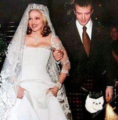 Madonna e Guy Ritchie , seu segundo casamento.