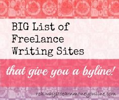 freelance writing that does not require experience