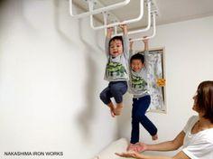 雲梯 うんてい 天井 トレーニング 家庭用