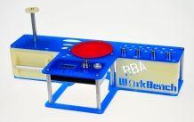 RBA Workbench Wickelstation Fussballedition Blau-Weiss
