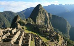 Inca Trail, Peru Classically spanning from Cusco to Machu Picchu, the Inca trail takes an average of days to complete, as trekkers pass through villages and ruins starting at ft and extending beyond feet above sea level. Machu Picchu Travel, Huayna Picchu, Ancient Ruins, Peru Travel, Travel And Leisure, Places To Travel, Places To See, Travel Destinations, The Journey