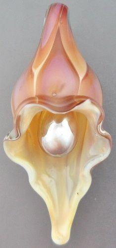 Handmade Lampwork Glass Focal Bead Vanilla Blush Lily Leah Nietz SRA N39 | eBay