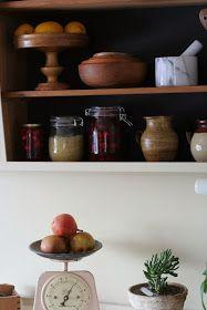 Roser og Patina: Litt fra kjøkkenet