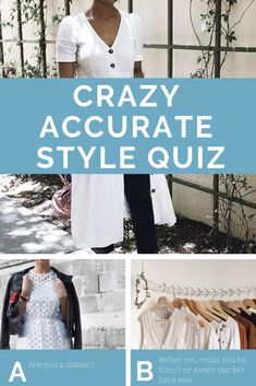 What the heck is my style? I just want a quiz to tell me what my style is, because it's too hard to figure out! I feel you, and I hear you. So, I made this bomb quiz that actually DOES tell you what your style is! style quiz Style Quiz — The Laurie Loo Personal Style Quiz, My Style Quiz, What's Your Style, Look Fashion, Fashion Outfits, Fashion Style Quiz, Fashion Women, Aesthetic Quiz, Summer Outfits