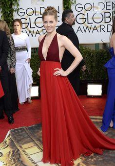 red dress, evening dress, deep v-neck