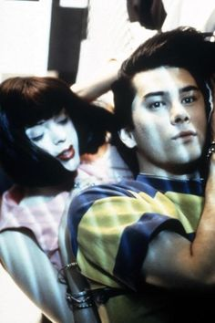 James Duval and Rose McGowen in The Doom Generation.
