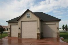 stucco garage plans with Rv space - Yahoo Image Search Results