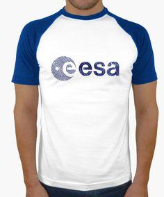 Camiseta ESA Space Agency Vintage Emblem