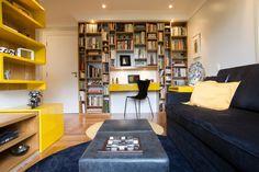 Decoração com cores fortes. Você gosta? | Eu Também Decoro - Blog de decoração, design e arquitetura.