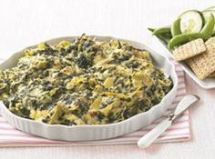 Cheesy Spinach And Artichoke Dip Recipe | YouRecipe