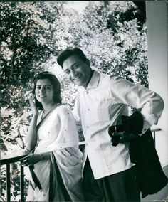 "bollymusings: "" ""Dev Anand with his wife "" """