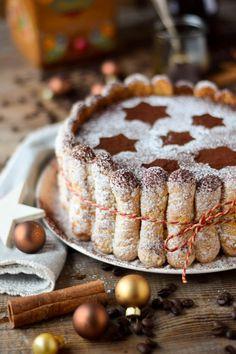 Tirmaisu Cheesecake Charlotte - Kaffee Kuchen mit Löffelbiskuit und Kaffeelikör (2)
