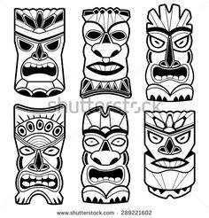Tiki Gods Stock Vectors & Vector Clip Art | Shutterstock
